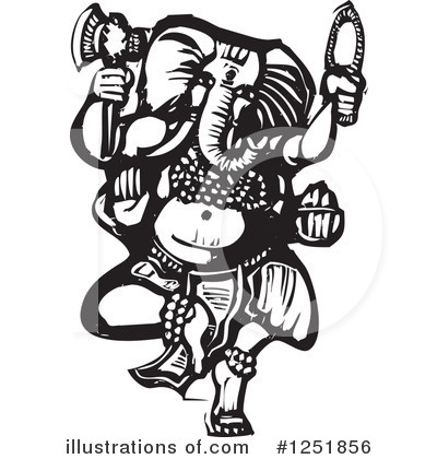 Elephant Clipart #1251856 by xunantunich