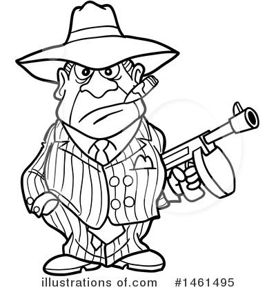 Gangster Clipart 1461495