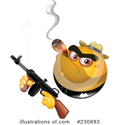 Mobster Clipart #230883 by yayayoyo