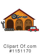 Royalty-Free (RF) garage Clipart Illustration #1151170