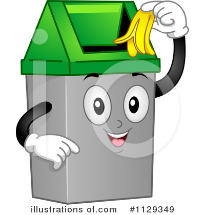 Trash Can Clipart #1129349 by BNP Design Studio