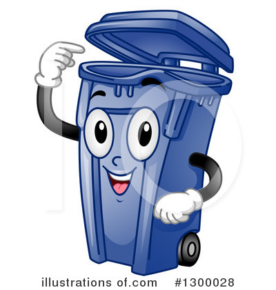 Garbage Can Clipart #1300028 by BNP Design Studio