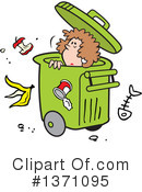 Garbage Clipart #1371095 by Johnny Sajem