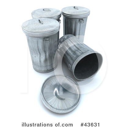 Royalty-Free (RF) Garbage Clipart Illustration by Frank Boston - Stock Sample #43631