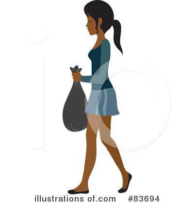 Black Woman Clipart #83694 by Rosie Piter