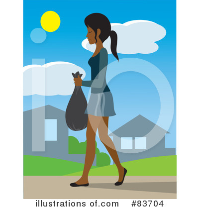 Black Woman Clipart #83704 by Rosie Piter