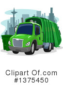Garbage Truck Clipart #1375450 by BNP Design Studio