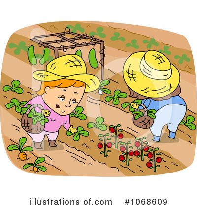 Royalty-Free (RF) Garden Clipart Illustration #1068609 by BNP Design ...