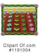 Royalty-Free (RF) Garden Clipart Illustration #1191004