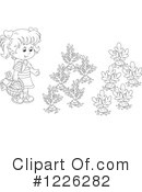 Garden Clipart #1226282 by Alex Bannykh