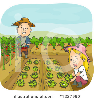 Produce Clipart #1227990 by BNP Design Studio