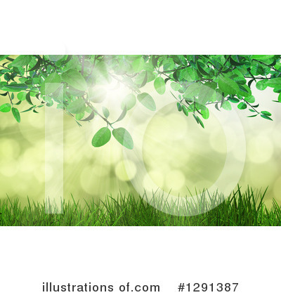 Leaves Clipart #1291387 by KJ Pargeter