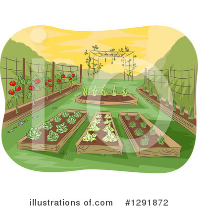 Gardening Clipart #1291872 by BNP Design Studio