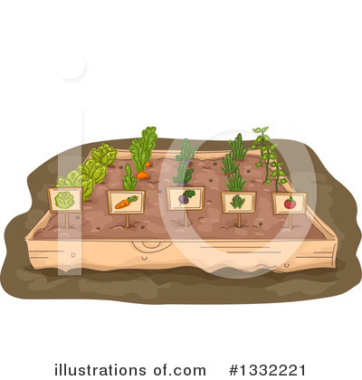 Gardening Clipart #1332221 by BNP Design Studio