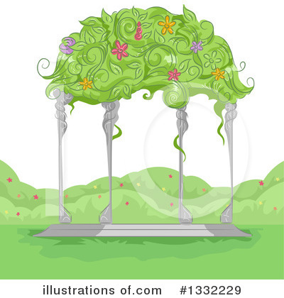 Gazebo Clipart #1332229 by BNP Design Studio
