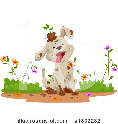 Dog Clipart #1332232 by BNP Design Studio