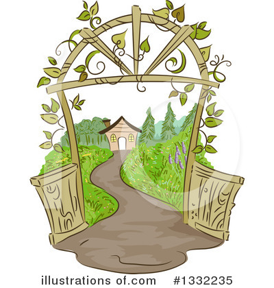Gardening Clipart #1332235 by BNP Design Studio