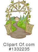 Royalty-Free (RF) Garden Clipart Illustration #1332235
