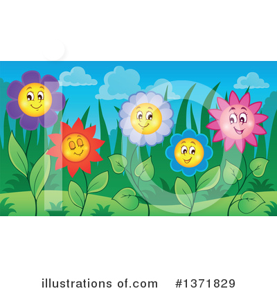 Daisy Clipart #1371829 by visekart