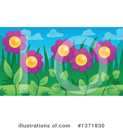 Daisy Clipart #1371830 by visekart