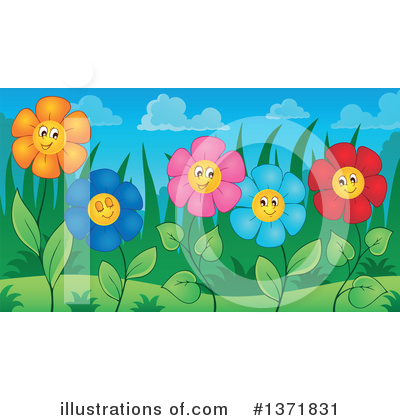 Daisy Clipart #1371831 by visekart