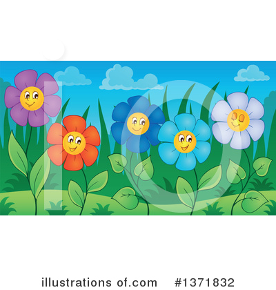 Daisy Clipart #1371832 by visekart