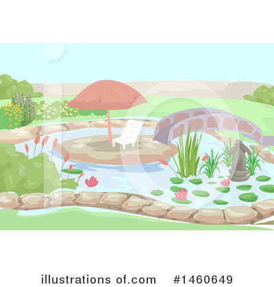 Royalty-Free (RF) Garden Clipart Illustration by BNP Design Studio - Stock Sample #1460649