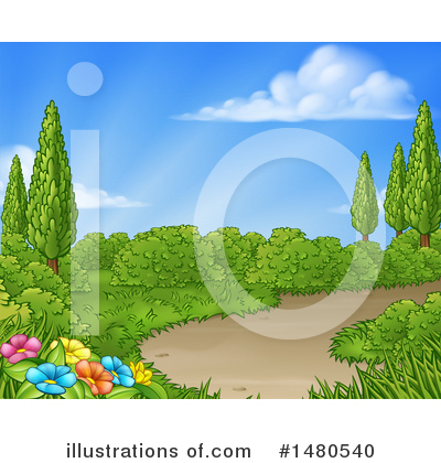 Spring Time Clipart #1480540 by AtStockIllustration