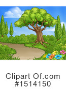 Royalty-Free (RF) Garden Clipart Illustration #1514150