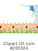 Royalty-Free (RF) Garden Clipart Illustration #230324