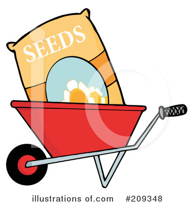 Garden tool clipart 209348 illustration by hit toon for Gardening tools clipart