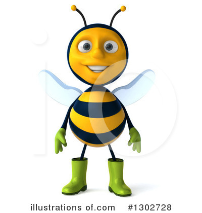 Bee Clipart #1302728 by Julos
