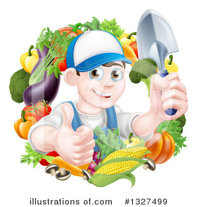 Corn Clipart #1327499 by AtStockIllustration