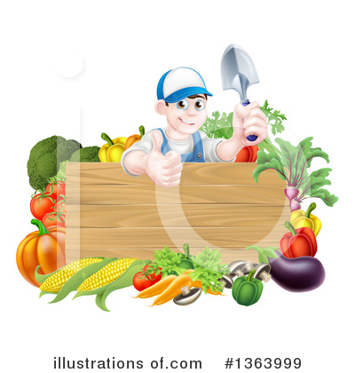 Produce Clipart #1363999 by AtStockIllustration