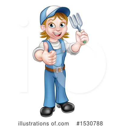 Worker Clipart #1530788 by AtStockIllustration