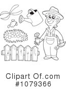 Royalty-Free (RF) Gardening Clipart Illustration #1079366