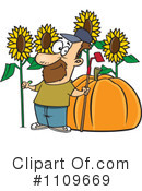 Royalty-Free (RF) gardening Clipart Illustration #1109669