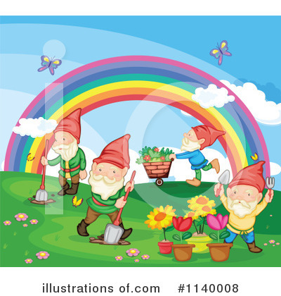 Gnome Clipart #1140008 by Graphics RF