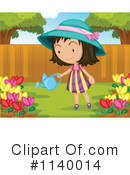 Royalty-Free (RF) Gardening Clipart Illustration #1140014