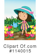 Royalty-Free (RF) Gardening Clipart Illustration #1140015