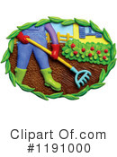 Royalty-Free (RF) Gardening Clipart Illustration #1191000