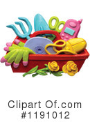 Royalty-Free (RF) Gardening Clipart Illustration #1191012