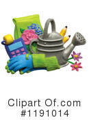 Royalty-Free (RF) Gardening Clipart Illustration #1191014