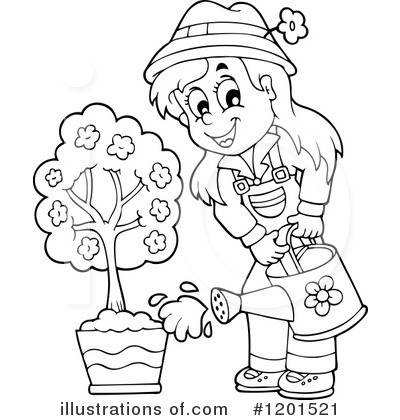 Gardening Clipart #1201521 by visekart