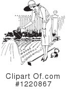 Royalty-Free (RF) Gardening Clipart Illustration #1220867
