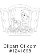 Gardening Clipart #1241898 by Alex Bannykh