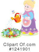 Gardening Clipart #1241901 by Alex Bannykh