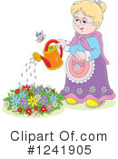 Royalty-Free (RF) Gardening Clipart Illustration #1241905