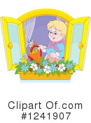 Royalty-Free (RF) Gardening Clipart Illustration #1241907