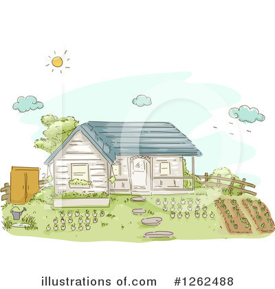 House Clipart #1262488 by BNP Design Studio